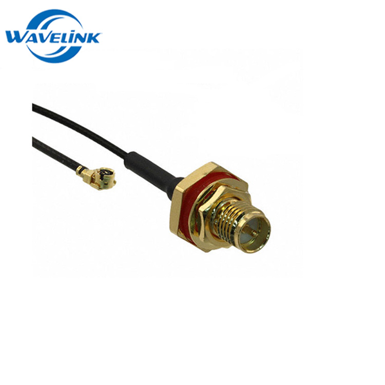 SMA Female To U.FL Connector Wire GSM Extension RF1.13 Cable With 0-6GHz