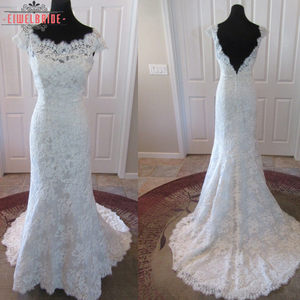 China Factory Manufacturer Modern Winter White Wedding Dress