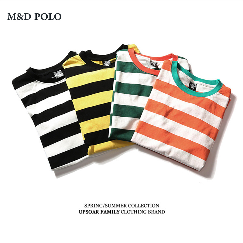 Hip Hop t-<strong>shirts</strong> custom printing men's Striped t <strong>shirt</strong>