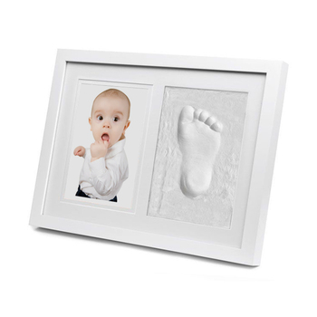 Baby Handprint Footprint Kit,Wood Babyprints Keepsakes Photo Frames ...