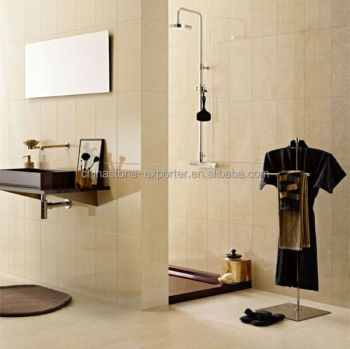 Bathroom Wall Decoration Natural Stone, Beige Marble Tile Slabs, Italian  Marble Botticino Classico