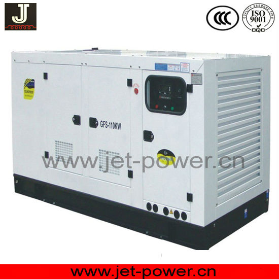 100% cooper power king diesel generator 150kva with soundproof canopy
