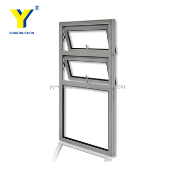 push out windows awning windows china factory delivery aluminium awning windows pull push window