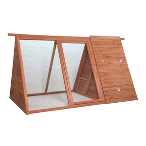 Triangular Wooden Rabbit Hutch, Habitat Guinea Pig Cage