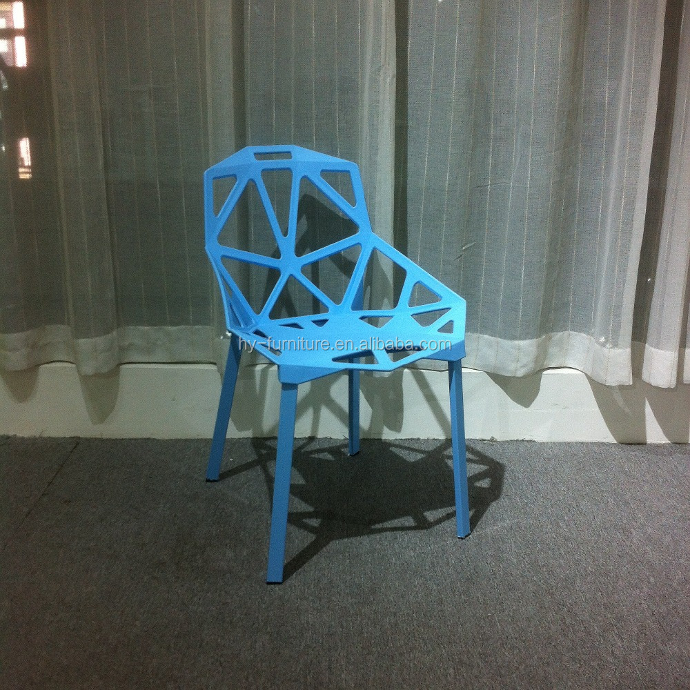 Leisure fashion dining chairs , modern plastic dining chair ,European style dining chair HYL-067