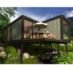 one carport prefabricated modular houses modern cheap prefab homes for sale