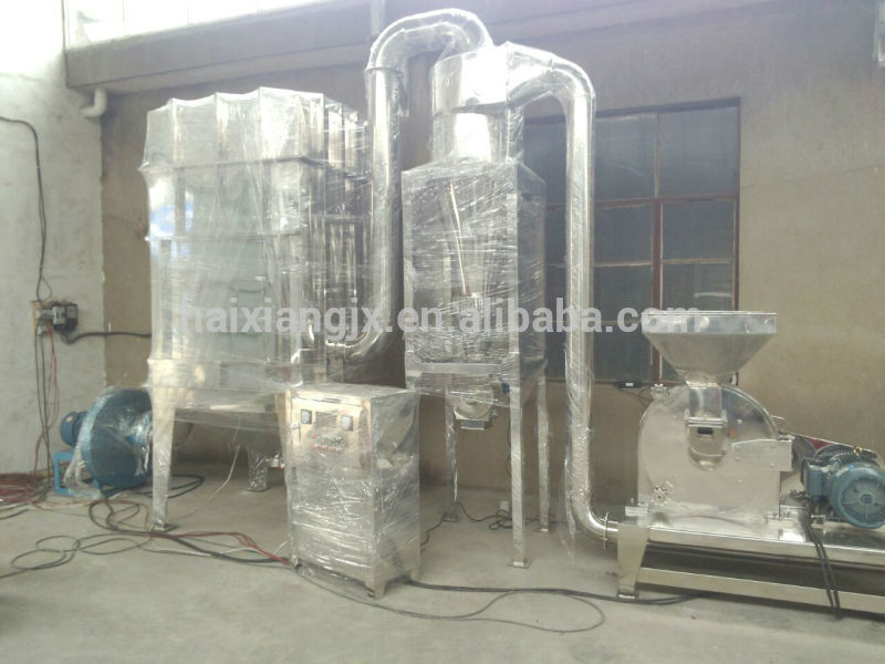 Industrial stainless steel 304 white pepper powder making machine