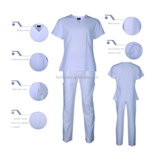 Le migliori Band <span class=keywords><strong>Top</strong></span> Quality Bianco Nurse Uniform Designs