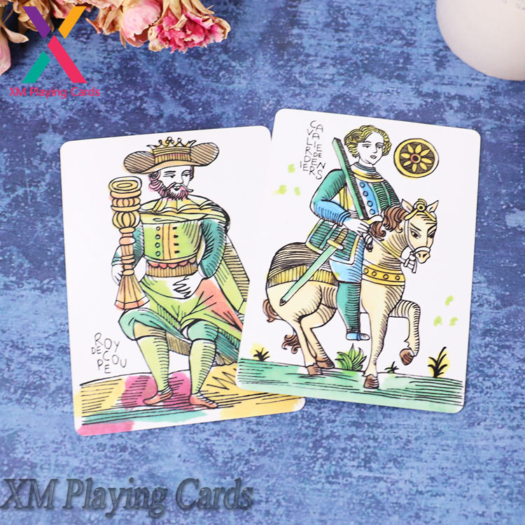 High quality mini playing custom printed paper tarot card wholesale