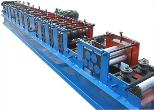 flange rolling machine made in china purline making mahine