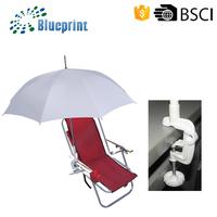 23 inches auto open beach chair umbrella for the beach