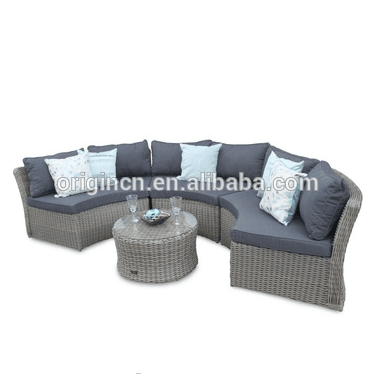 Timeless 7 Seater Patio Sectional Oversized Sofa Set
