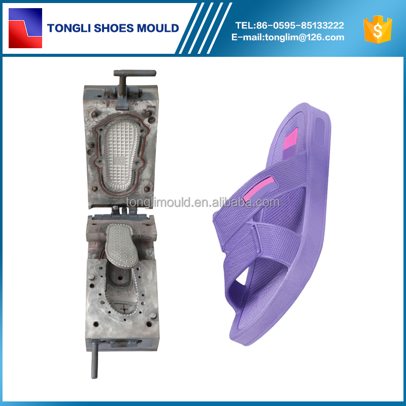 Fashion PVC Air Blowing Woman Mold for Slipper Mould