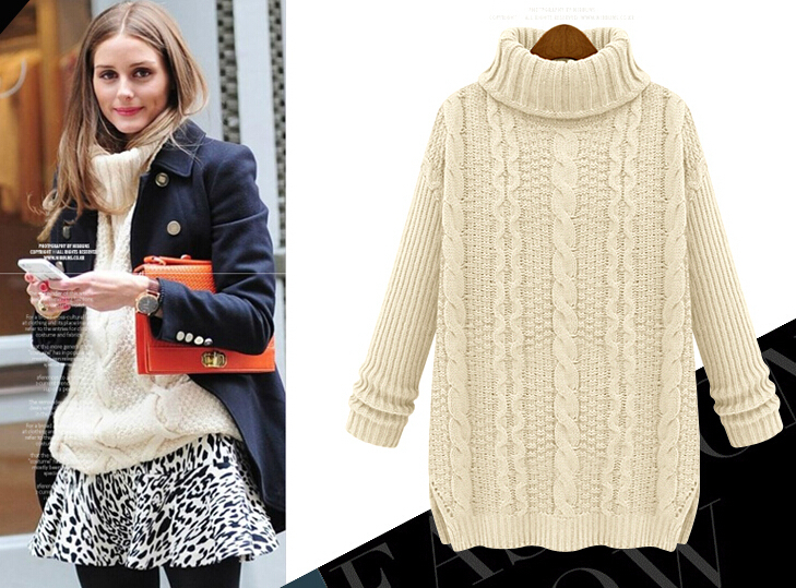 Women S Chunky Cable Knit Sweater Baggage Clothing
