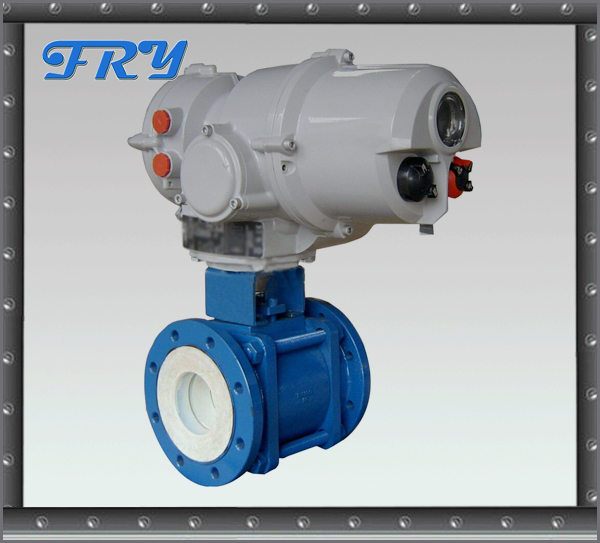 Casting material low pressure normal temperature electric ball valve DN300 with actuator
