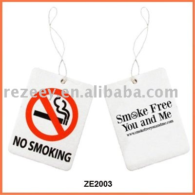 car Freshner card air freshener paper air freshener