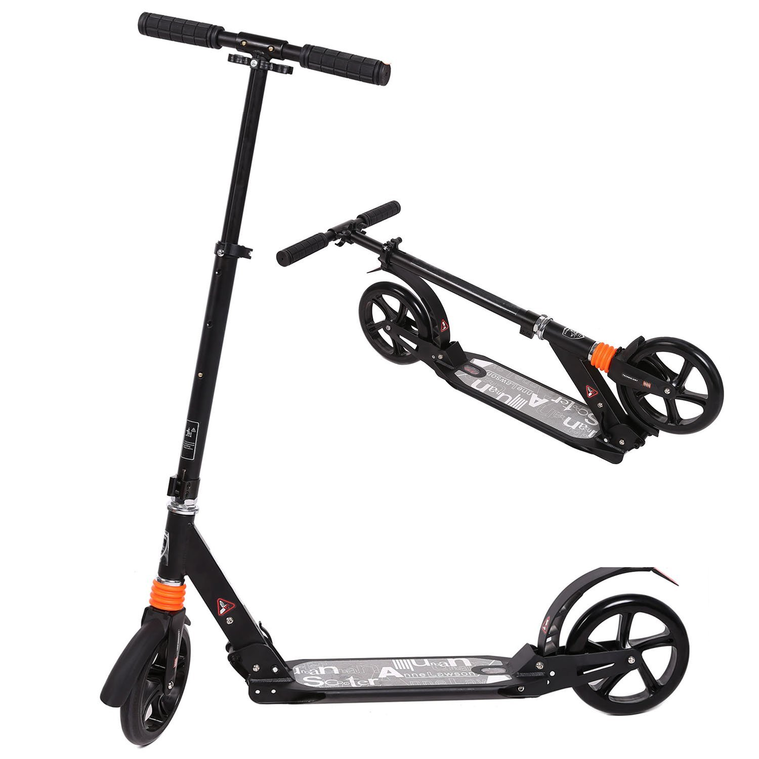 Adult push kick scooter
