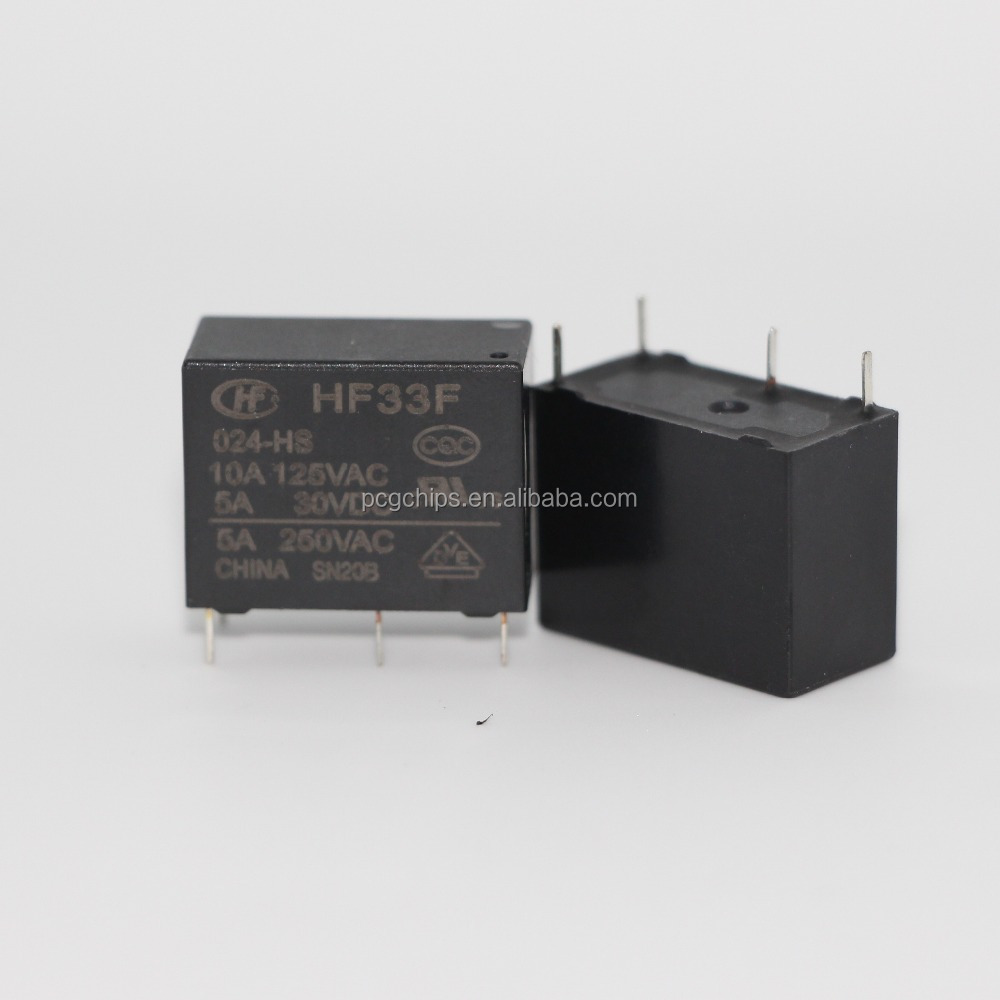 HF33F-024-HSL3 relay JZC-33F-024-HSL3 4 feet normally open 5A high sensitivity