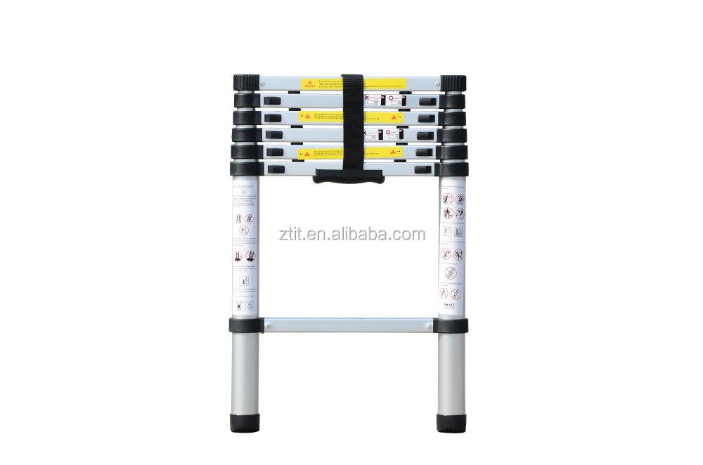Alu multifunktions teleskopleiter klappleiter bockleiter m