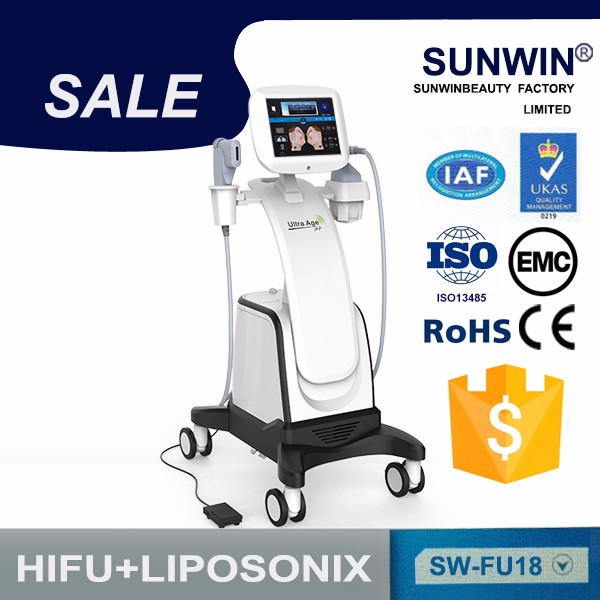 High effective lipo hifu ultrasound cellulite removal machine for sale