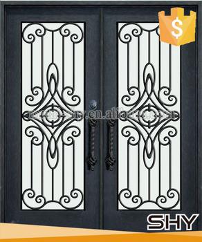 modern exterior steel door designs