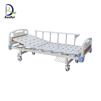 2019 CE Approved ABS Manual One Function Medical Clinic Bed Hospital