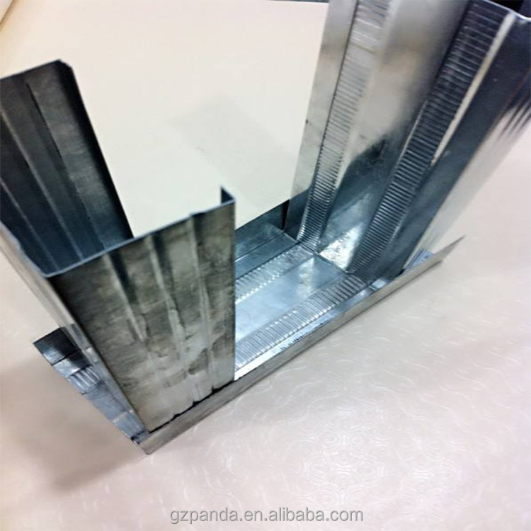 Stahlrahmen Profile Für Gipskartonplatten Bord Wand-Metallische ...