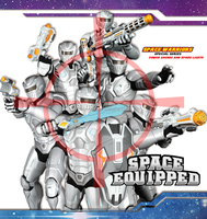 Space Gun,Space Warriors With Light Toy Gun Space Combination ...