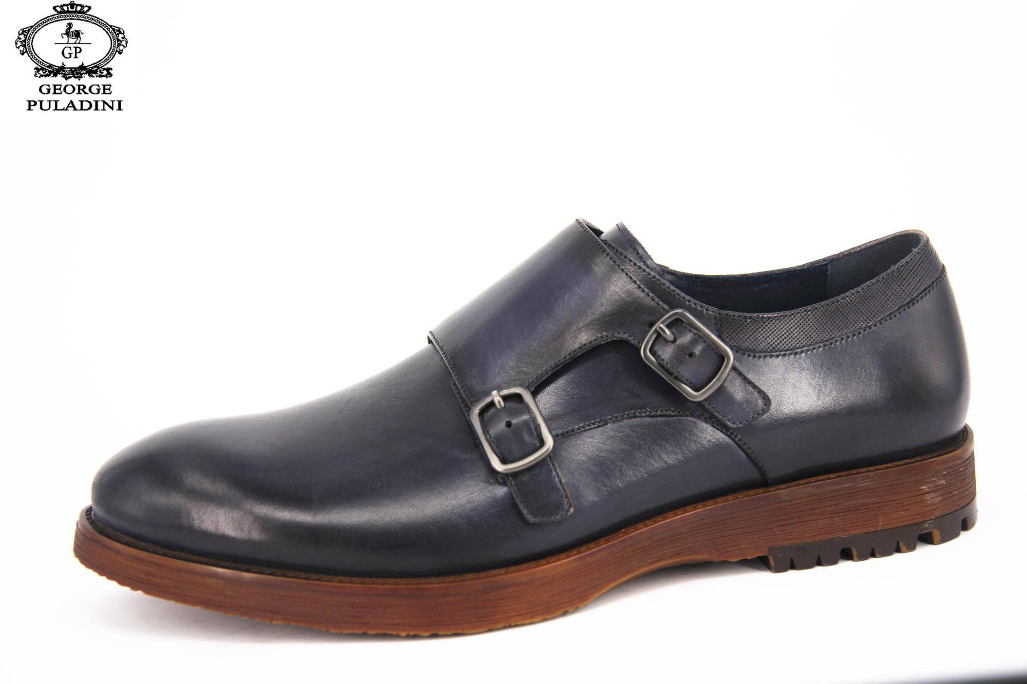Men shoes Dress latest shoes leather shoes Formal Fashionable Monk 2018 Desgin Men Strap dqE8ndz