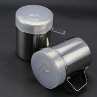 Salt and Pepper Shakers - Modern Kitchen Stainless Steel Salt and Pepper Shakers