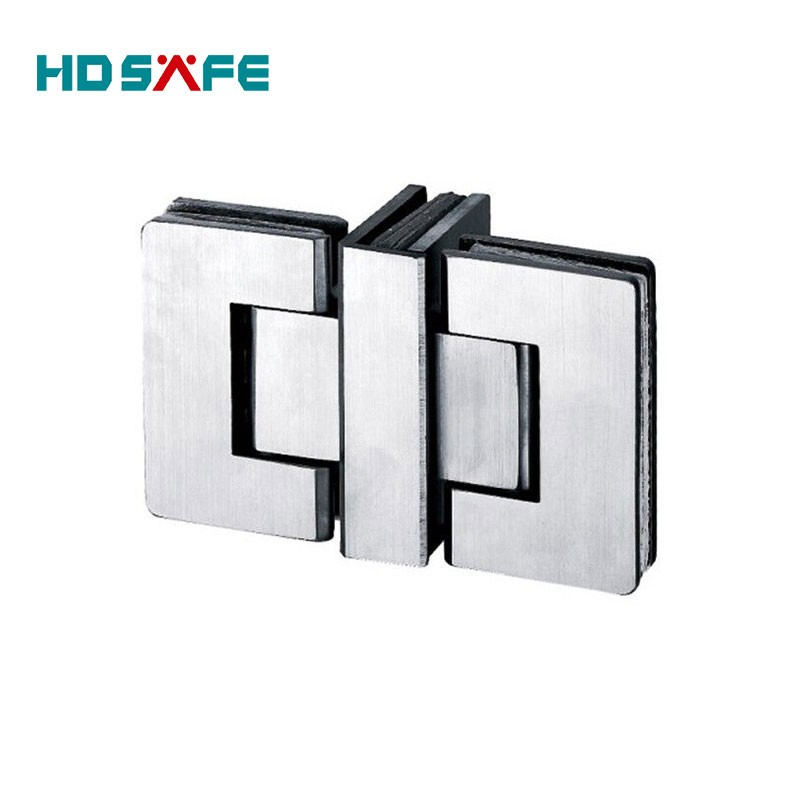 Stainless Steel 180 Degree Glass Clamp Shower Door Hinge