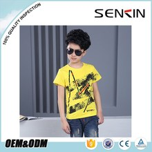 wholesale children's boutique clothing factory cheap printing kids t shirt