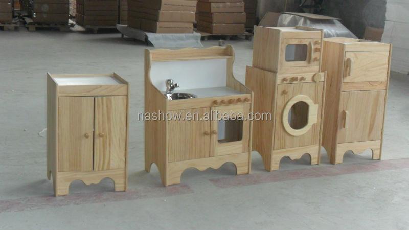 Mobili Per Giochi Bambini : Piano di gioco di ruolo cubby casa angolo solido giochi in legno