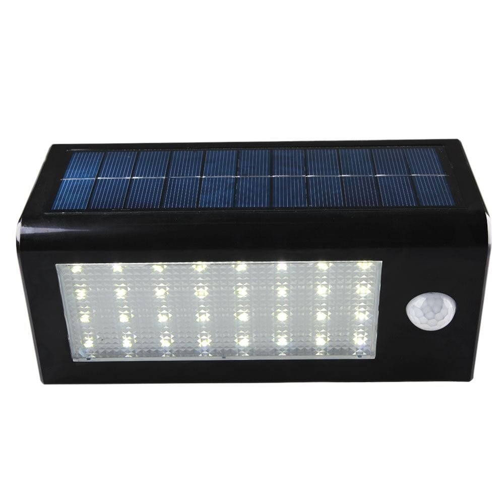 factory price 3.5W 400lm motion sensor solar led wall light