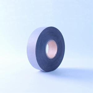 black Reflective Polyester Fabric band