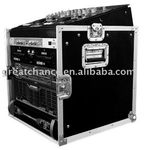 10U SLANT MIXER RACK / 10 U VERTICAL RACK SYSTEM