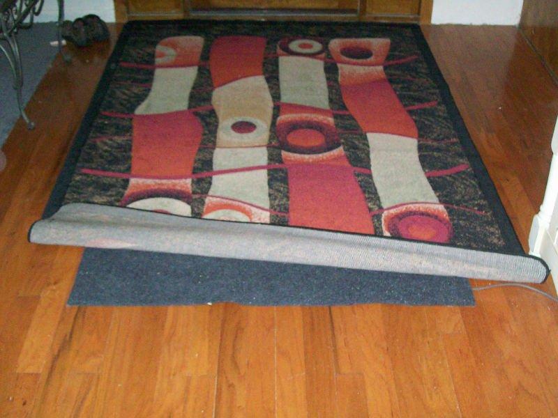 Radiant Heated Carpet Pad Mat