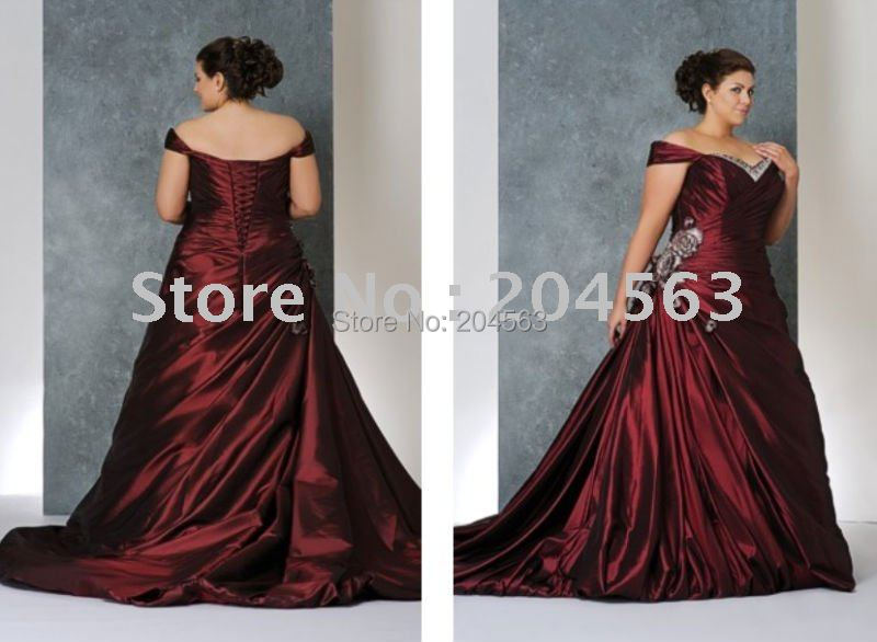 Free Shipping Best Selling Vintage Plus Size Wedding