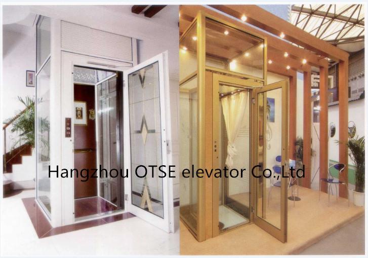Vidrio templado eje turismo ascensor casa para uso de la - Ascensor casa ...