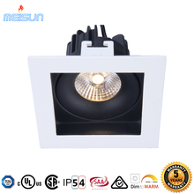 High quality high cri cree cob chip square led downlight 10W