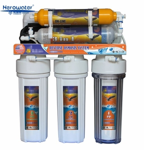 7 stages reverse osmosis water filter system water purifier machine water purifier