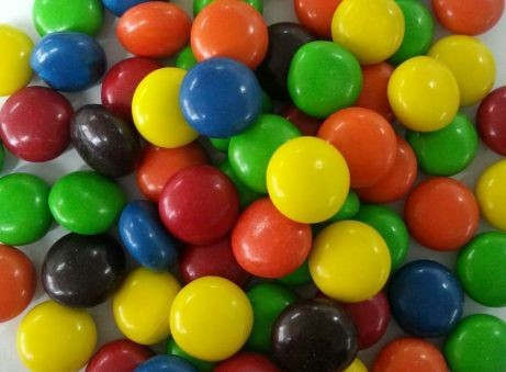m&m style chocolate