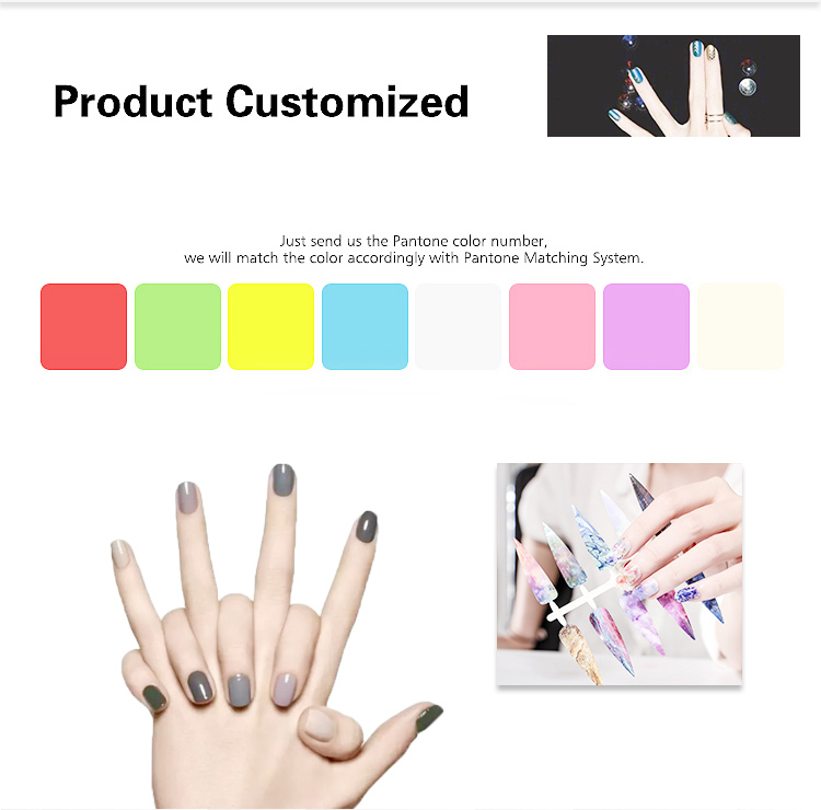 Beautiful Design Lovely False Nails Artificial Full Cover 3d korean Nail Sticker, Nail Patch