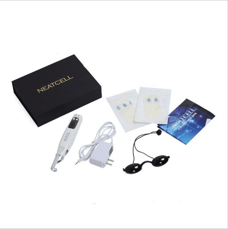 Neatcell CE FCC 100- 240V Tattoo Spots Melanin Mole Removal Device Mini Picosecond laser pen