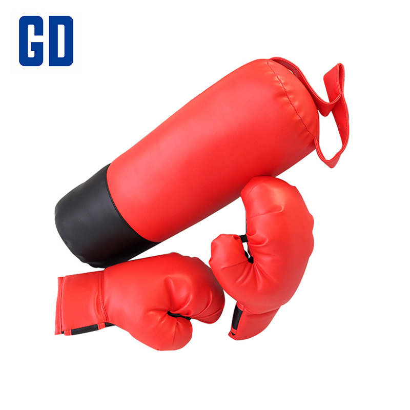 Gd Punching Bag Boxing Glove Set 4 Ounce Glovex2 Training Equipment Kids Gloves