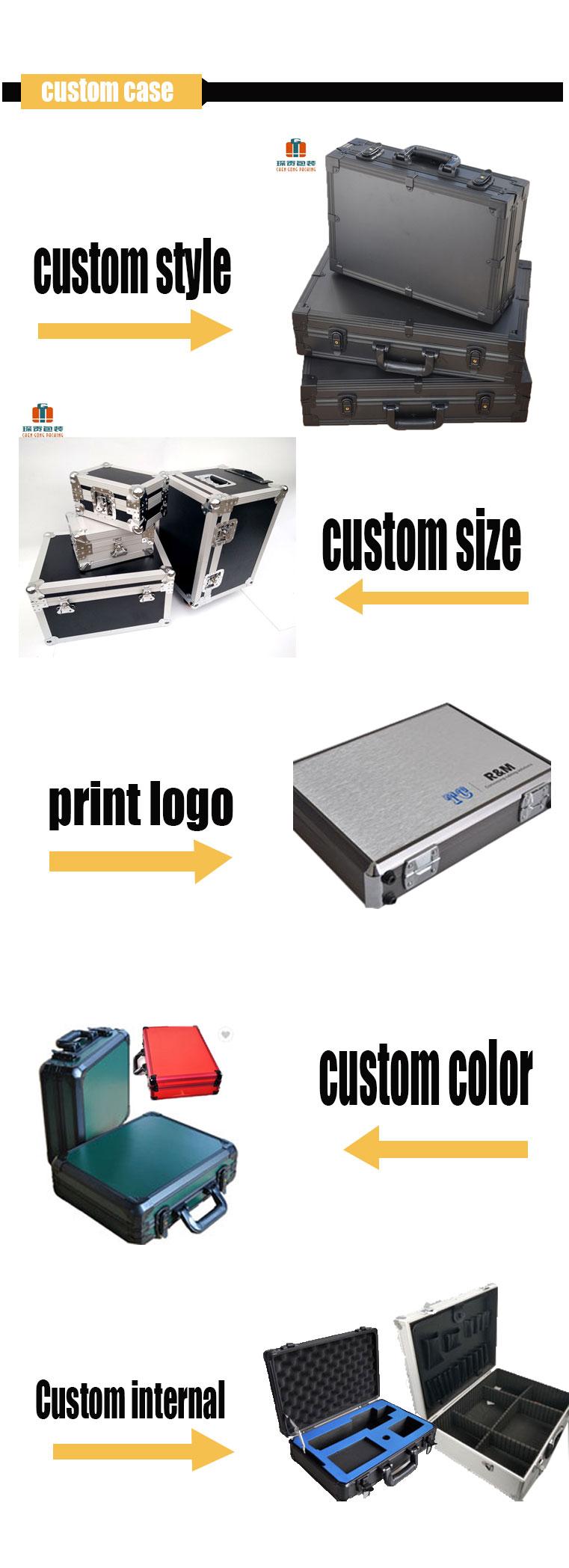 Manufacturer Carrying Flight Briefcase Aluminum Hard Case