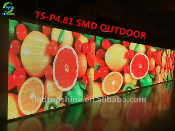 Smd Led Display Outdoor P4.81 Display / Module / Screen/ Panel 250*250mm
