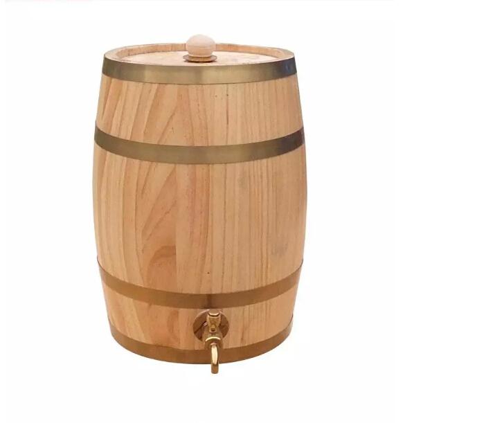 3 loak baril vertical tonneau en bois h tel bar restaurant. Black Bedroom Furniture Sets. Home Design Ideas
