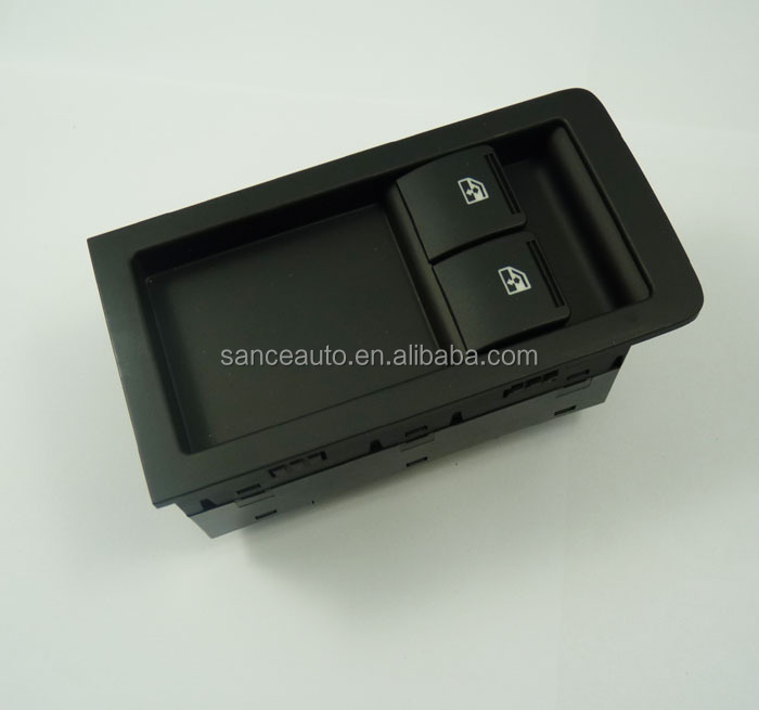 92111644 Master Power Main Window Switch Black 2 Button For Holden Commodore VY VZ SS Ute
