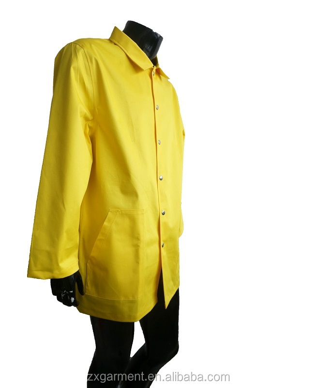 Yellow PU Bomber Jacket